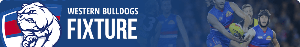 Bulldogs AFL fixture
