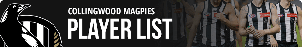 collingwood 2018 player list