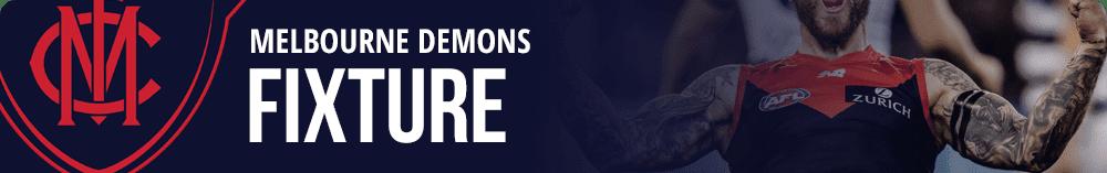 Melbourne Demons fixture