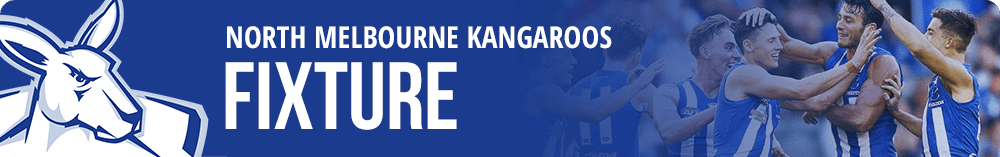 North Melbourne fixtures