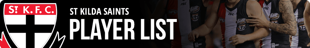 st kilda saints player list