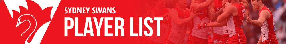 Sydney Swans Player List