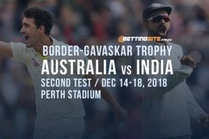 Border-Gavaskar Trophy cricket betting