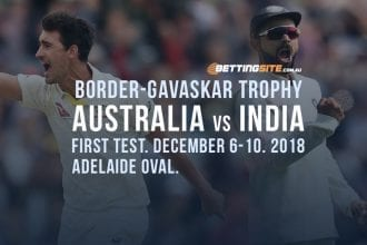 Border-Gavaskar Trophy cricket betting