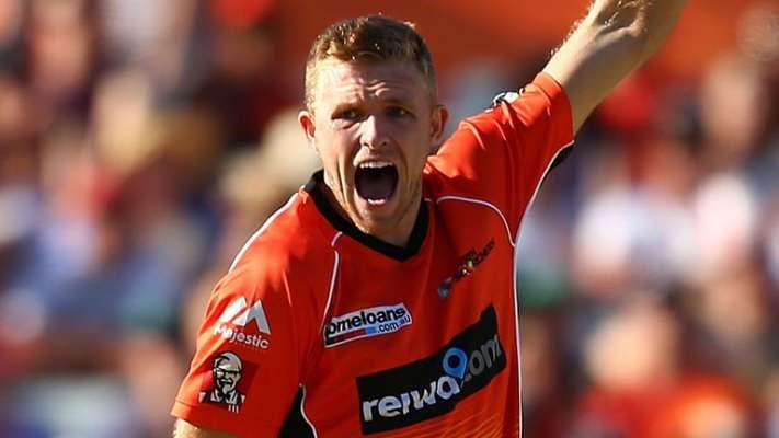 Perth Scorchers star David Willey