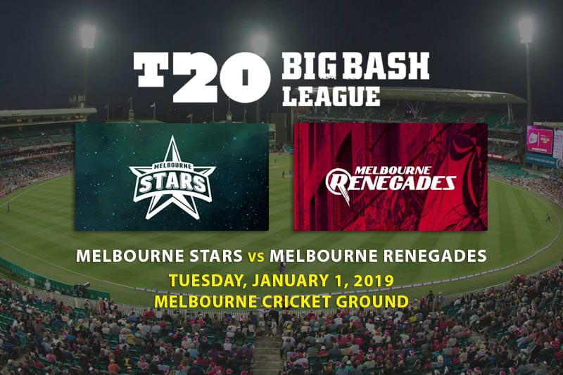 Latest T20 Big Bash League odds