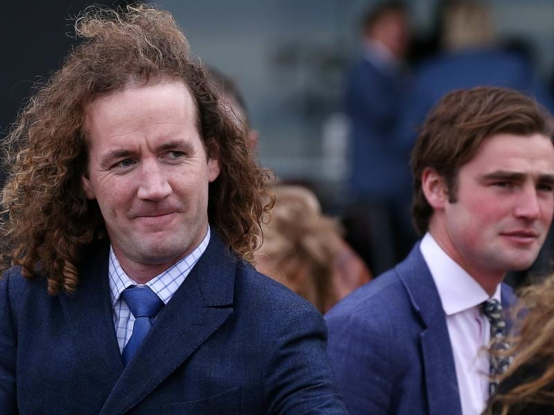 Co-trainers Ciaron Maher and David Eustace.
