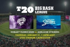 Hurricanes v Strikers