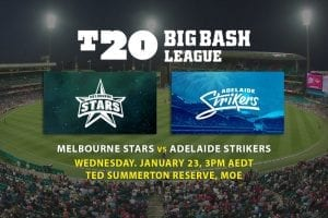 Stars v Strikers