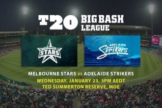Stars v Strikers