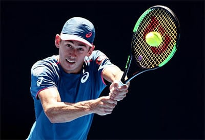 Alex de Minaur tennis betting
