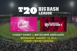 Latest T20 Big Bash betting tips
