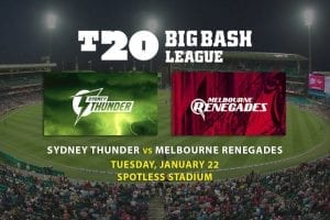 Big Bash betting