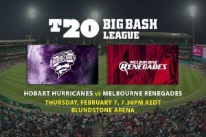 Hurricanes vs Renegades