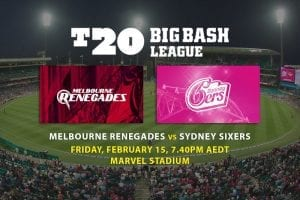 Renegades v Sixers