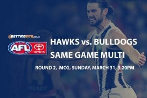 Hawks v Dogs multi