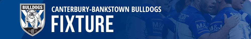 Canterbury Bulldogs Fixture