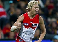 Isaac Heeney AFL betting