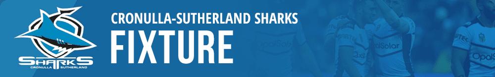 Cronulla Sharks 2019 fixture