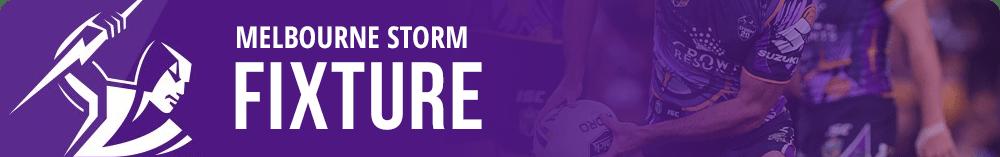 Melbourne Storm NRL fixture
