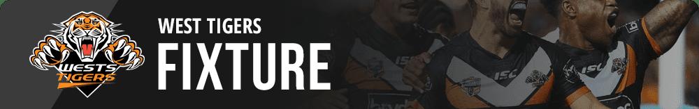 West Tigers 2019 Fixture