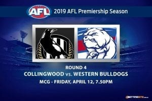 Collingwood v Western Bulldogs