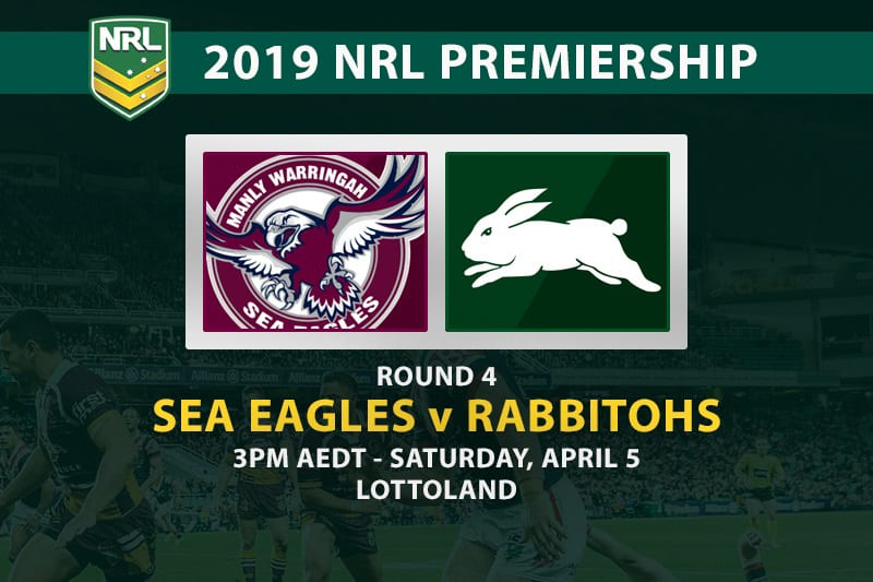Sea Eagles v Souths