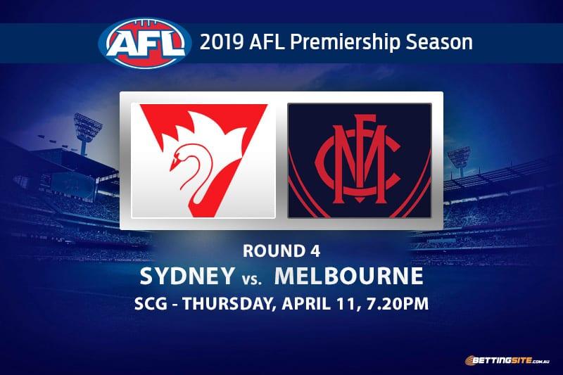 2019 AFL Round 4 predictions | Sydney vs Melbourne Thursday tips