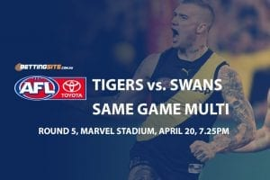 Tigers v Swans multi