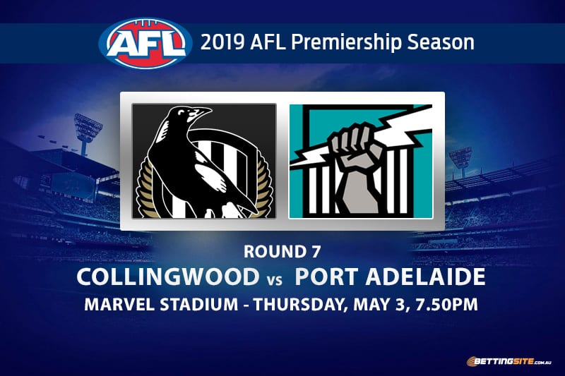 AFL Magpies v Power