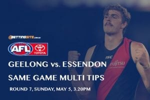 Cats v Bombers AFL rd 7