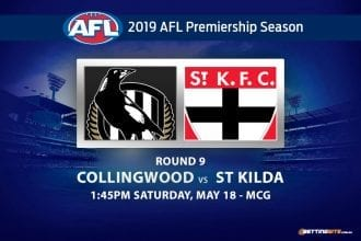 2019 AFL Pies Saints betting tips