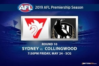 2019 AFL betting tips - Swans vs Magpies