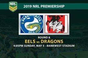 NRL 2019 Eels vs Dragons betting tips