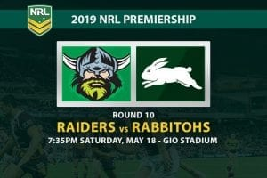 2019 NRL Raiders Rabbitohs betting tips