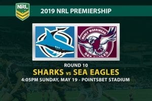 2019 NRL Cronulla vs Manly betting tips