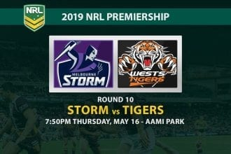 2019 NRL betting tips Storm vs Tigers