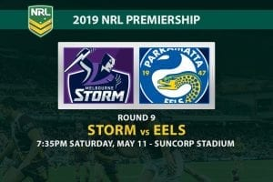 Storm Eels 2019 NRL betting tips