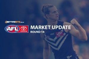 AFL Round 14 market update