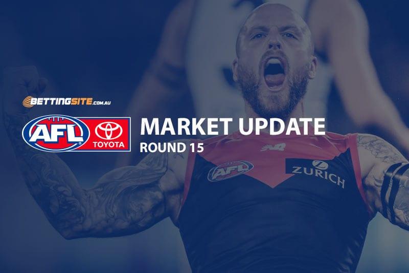 2019 AFL Round 15 market update