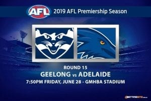 AFL Round 15 Cats vs Crows betting tips