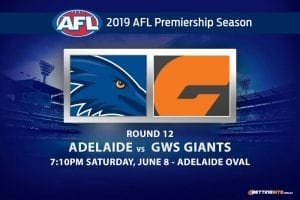 AFL Round 12 Crows vs Giants betting tips