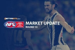 AFL Round 13 betting update