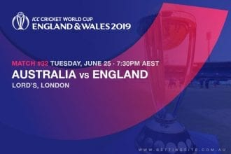 2019 ICC Cricket World Cup betting