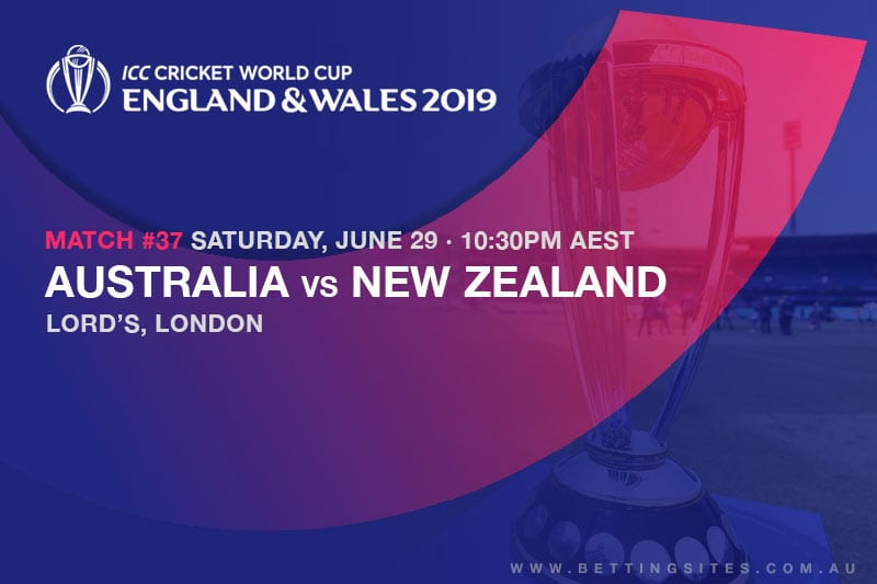 2019 Cricket World Cup odds