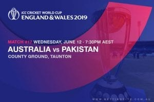 2019 Cricket World Cup betting
