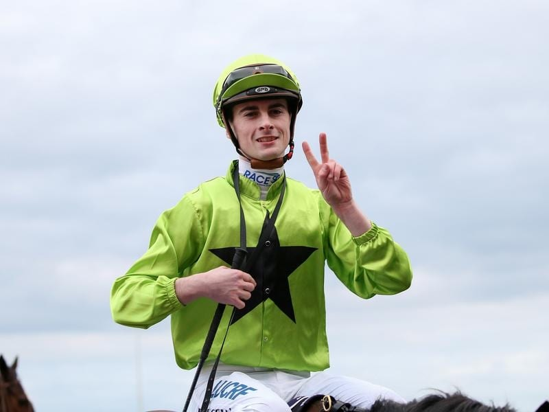 Apprentice Teo Nugent rode a double at Caulfield.