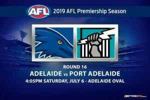 Crows vs Power AFL 2019 betting tips