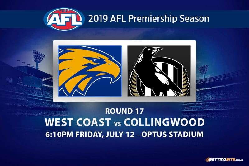 Eagles vs Magpies AFL Round 17 betting tips