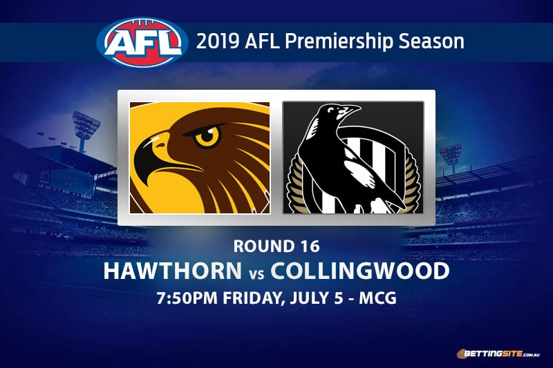 2019 AFL Hawks vs Magpies betting tips